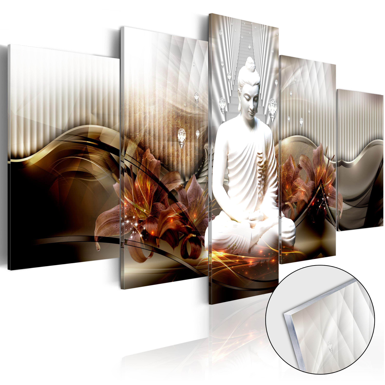 Quadri su vetro acrilico - Crystal Calm [Glass] 100X50 cm