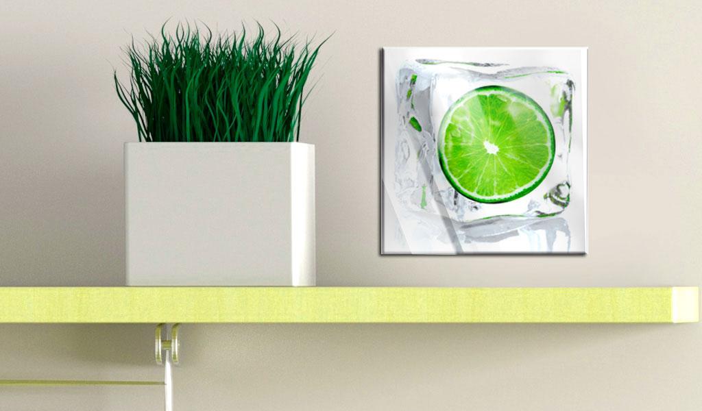Neu acrylglasbilder bild deko glas glasbild obst k che for Acrylglasbilder kuche