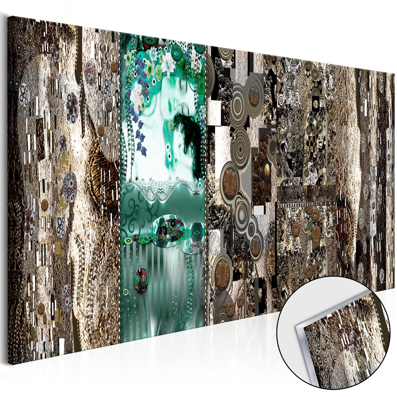 acrylglasbild gustav klimt inspiration moderne wandbilder xxl l a 0012 k b ebay. Black Bedroom Furniture Sets. Home Design Ideas