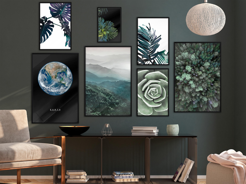 Druck Bild Poster 5er Set Print Kunstdruck Plakat Wandbild Wandposter Rahmen 271