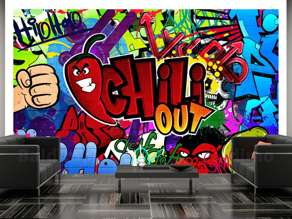 wallpaper xxl non woven huge photo wall mural art print graffiti 10110905 11 ebay. Black Bedroom Furniture Sets. Home Design Ideas