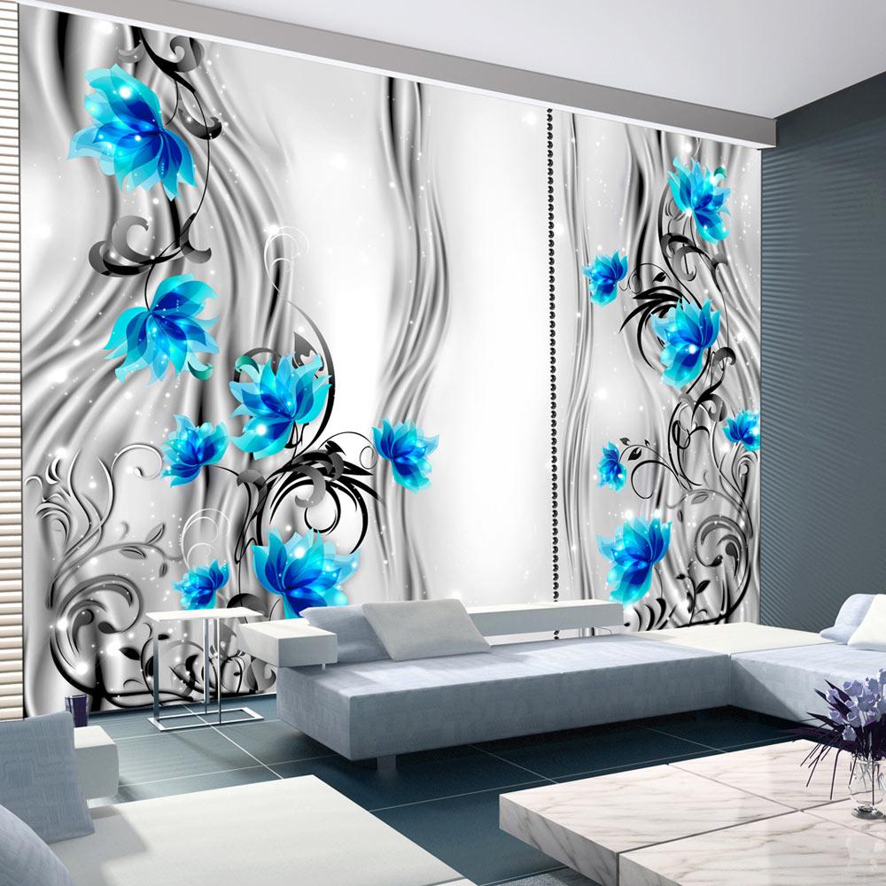vlies fototapete 3 farben zur auswahl tapeten blumen 10110906 137 ebay. Black Bedroom Furniture Sets. Home Design Ideas