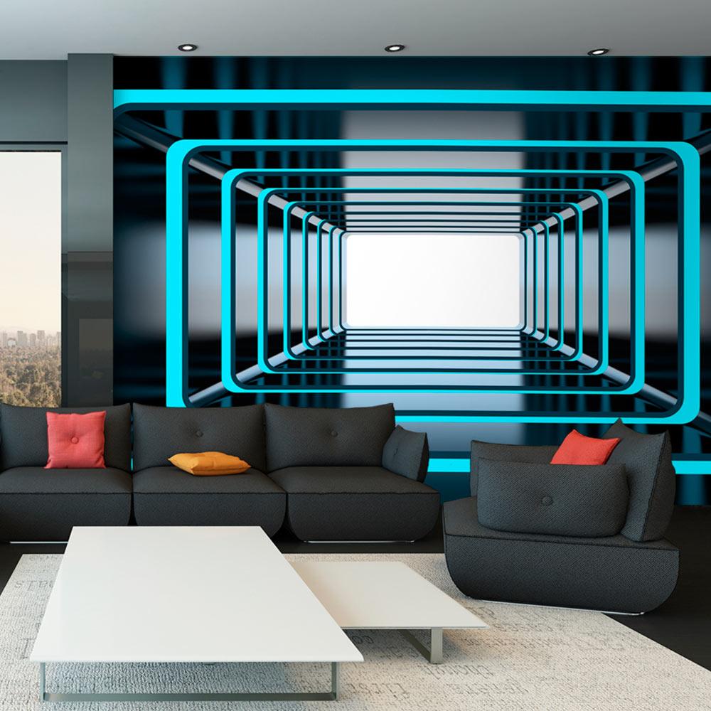 vlies fototapete 3 farben zur auswahl tapeten tunnel 3d optisch a a 0126 a b ebay. Black Bedroom Furniture Sets. Home Design Ideas
