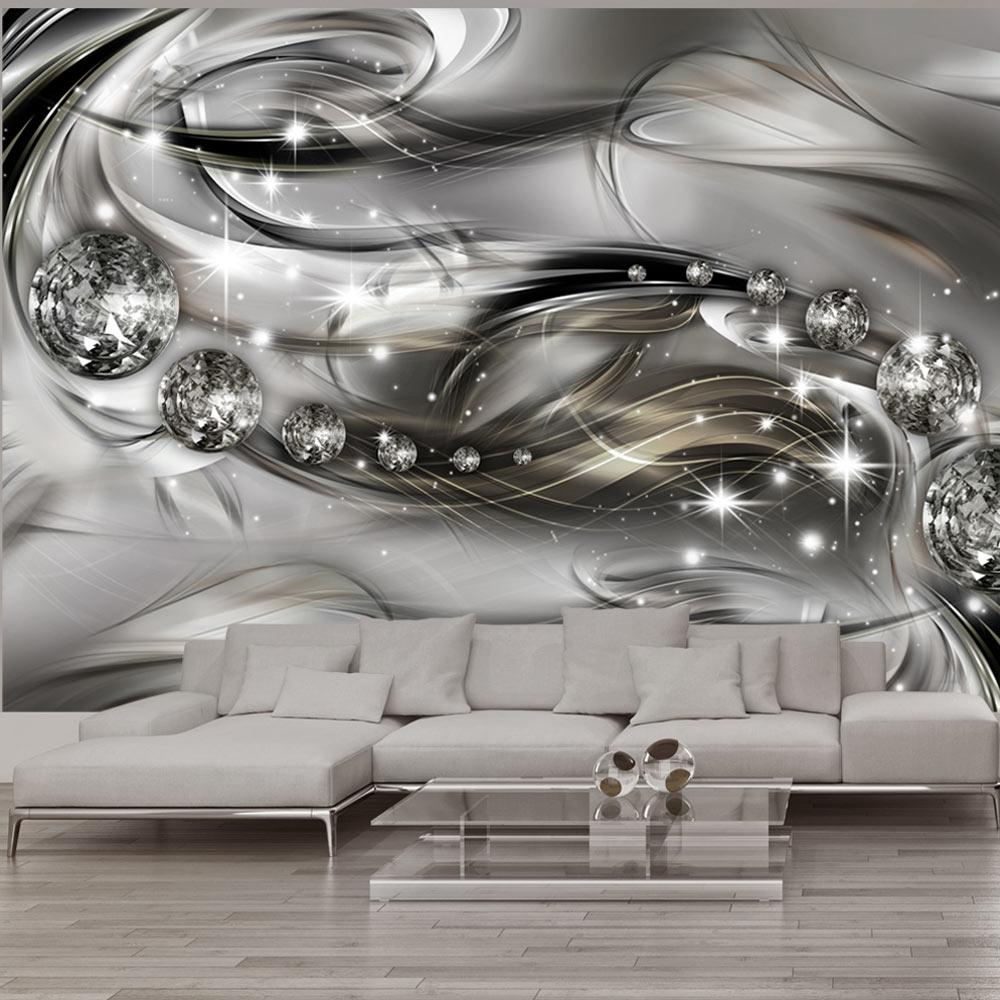 Vlies fototapete abstrakt tapete 3 farben wandbilder xxl for 3d wallpaper for home amazon