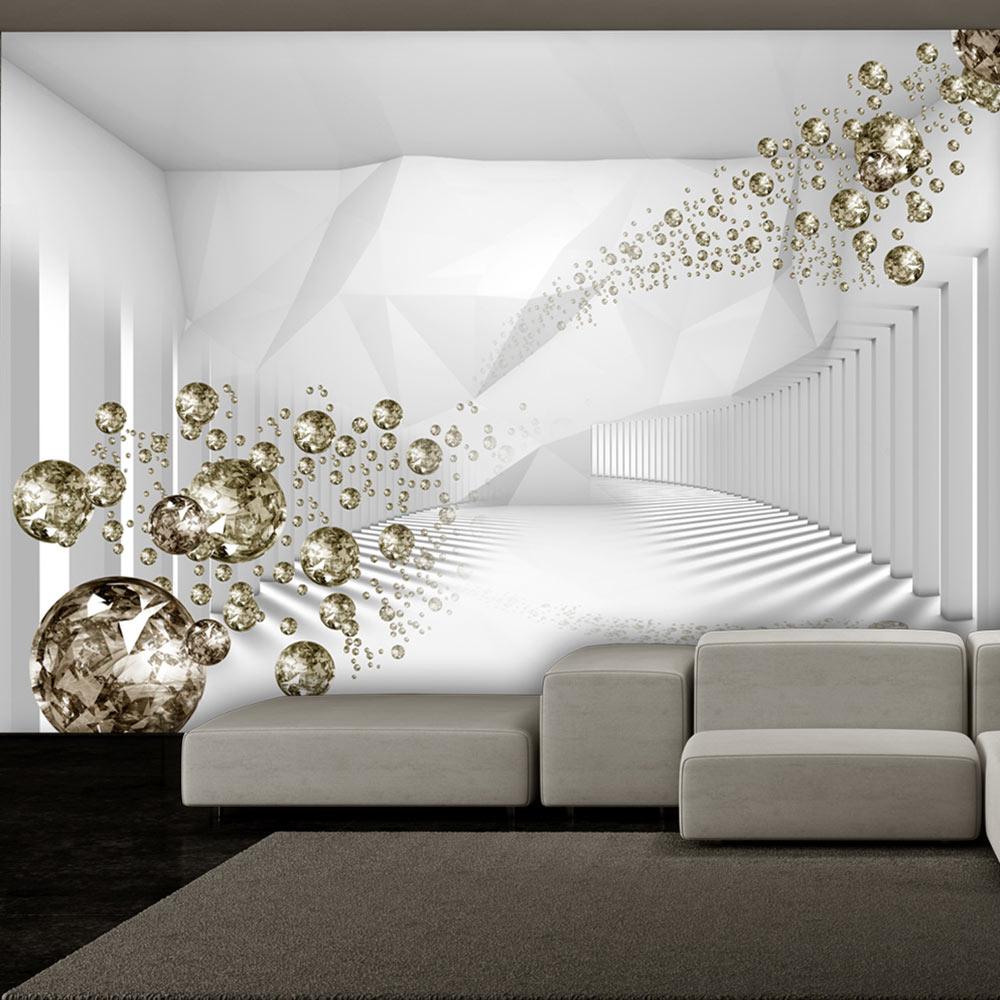Fotomurale - Diamond Corridor 300X210 cm
