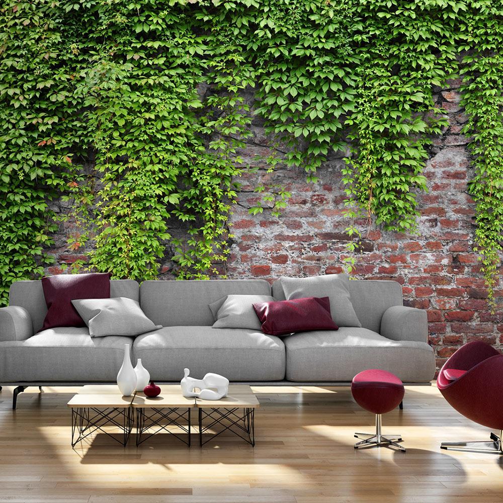 vlies fototapete 3 farben zur auswahl tapeten steine efeu mauer b a 0173 a b ebay. Black Bedroom Furniture Sets. Home Design Ideas
