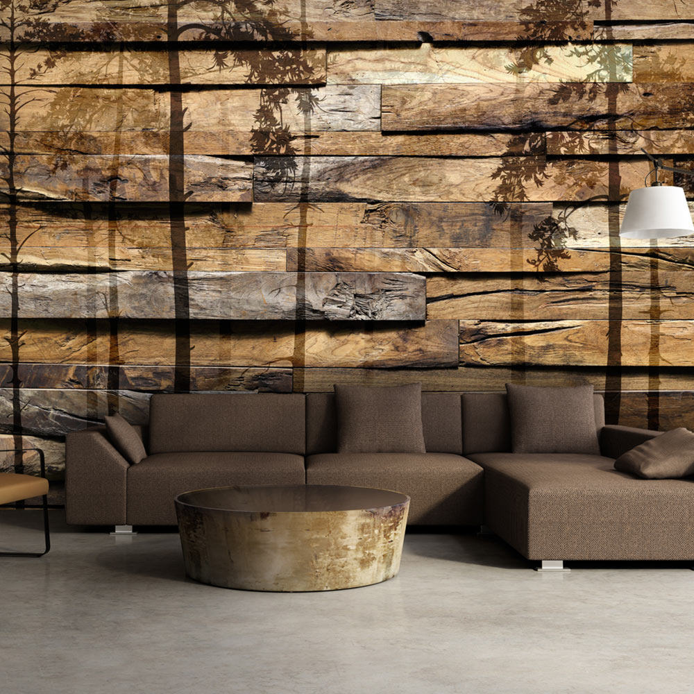 fototapete holzoptik holz bretter b ume vlies tapete xxl wandbilder f a 0382 a b ebay. Black Bedroom Furniture Sets. Home Design Ideas