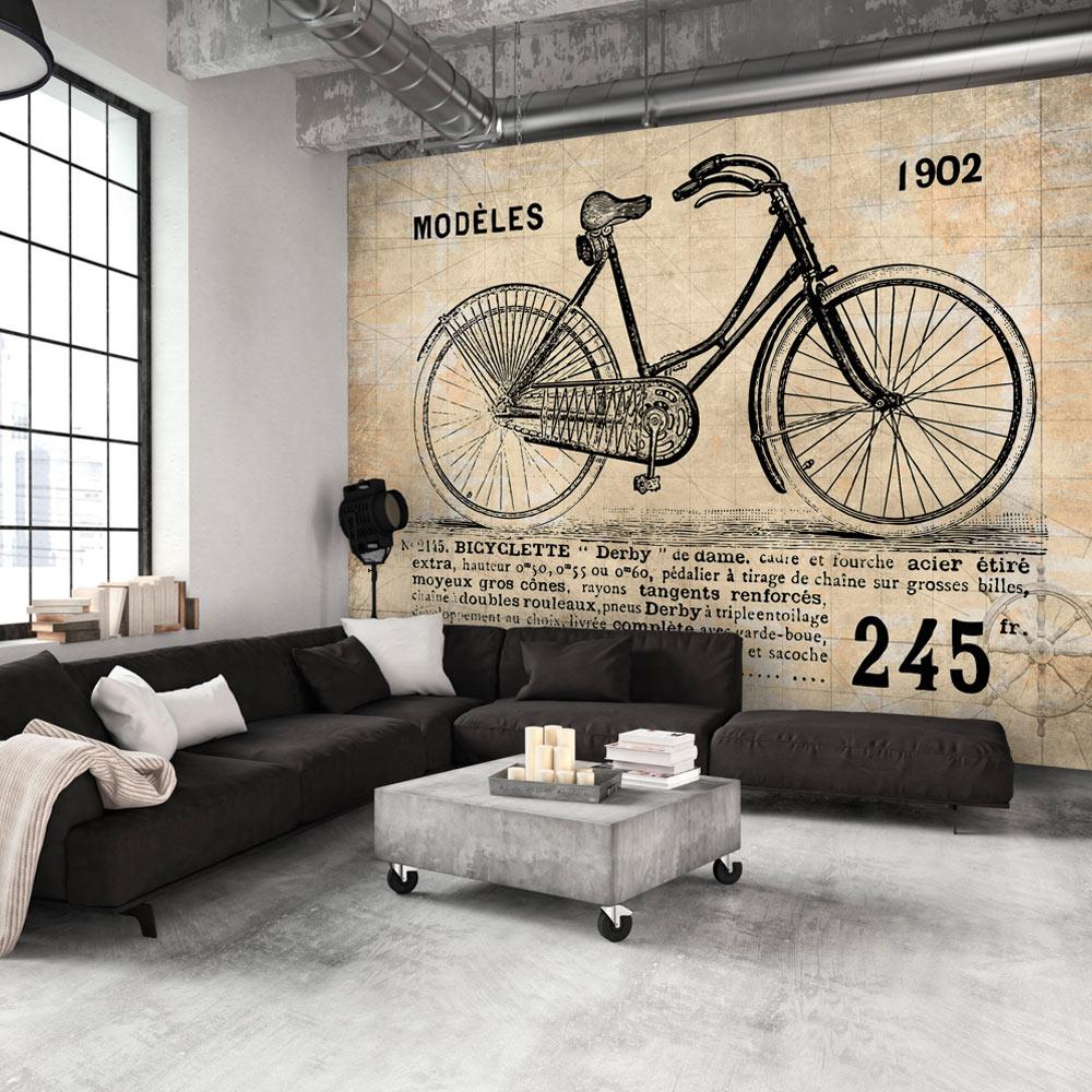 Fotomurale - Bicicletta Vintage 300X210 cm
