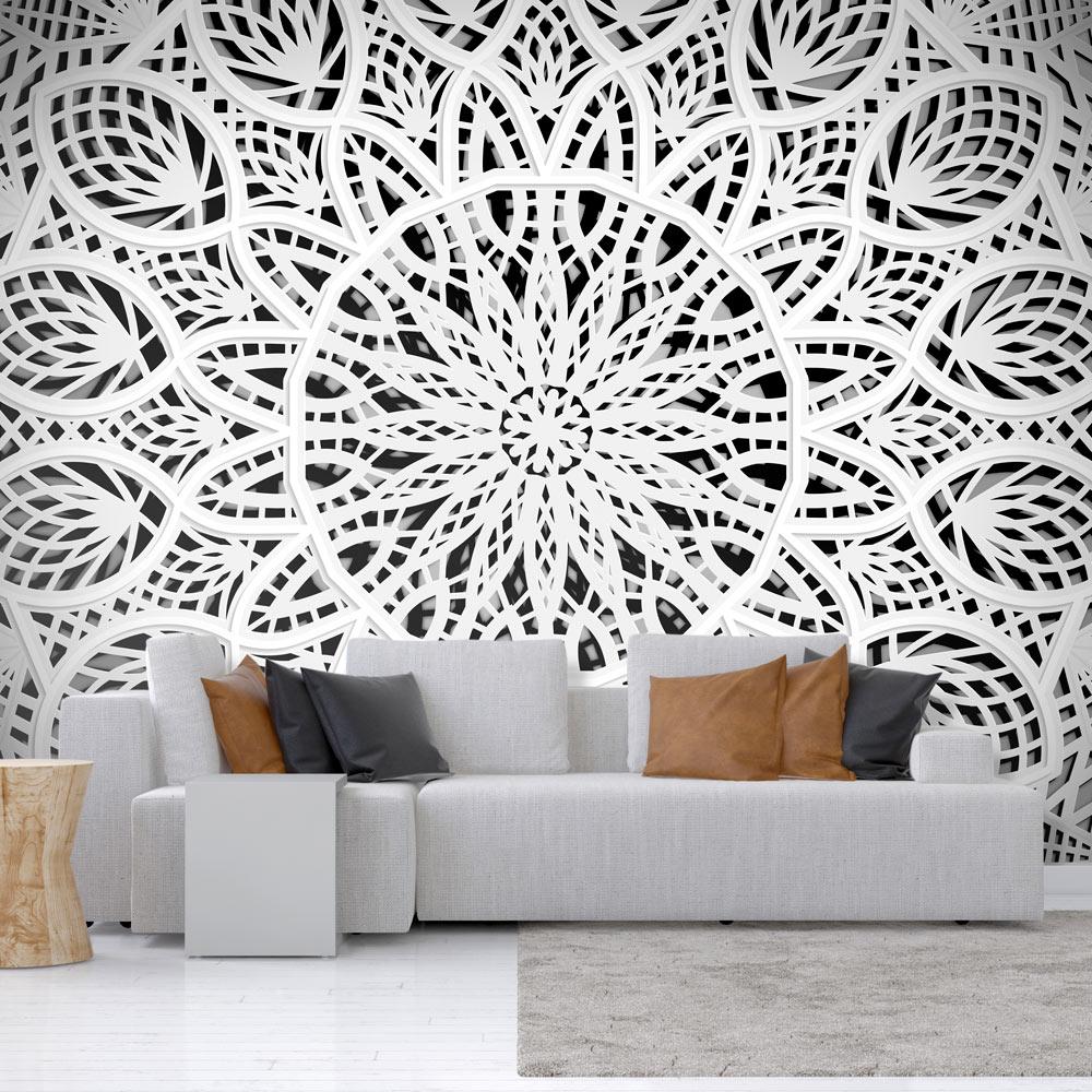 fototapete mandala ornament orient vlies tapete wandtapete. Black Bedroom Furniture Sets. Home Design Ideas