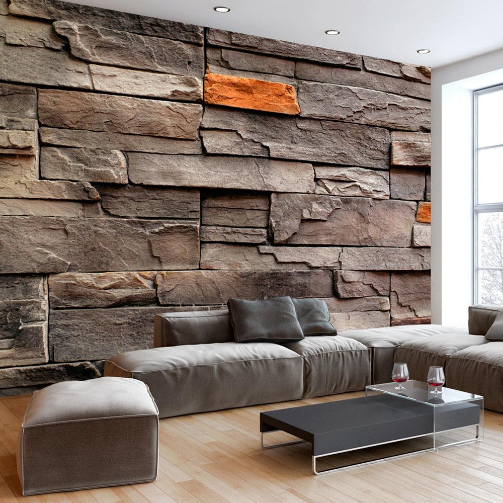 fototapete stein optik 3 farben vlies tapete steinwand wandtapete f b 0063 a b ebay. Black Bedroom Furniture Sets. Home Design Ideas