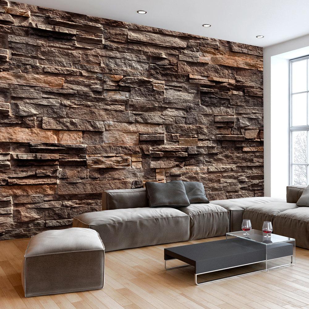 vlies fototapete 3 farben zur auswahl tapeten steine textur mauer f b 0086 a b ebay. Black Bedroom Furniture Sets. Home Design Ideas