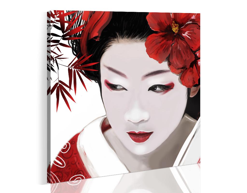 Quadro - Geisha 40X40 cm
