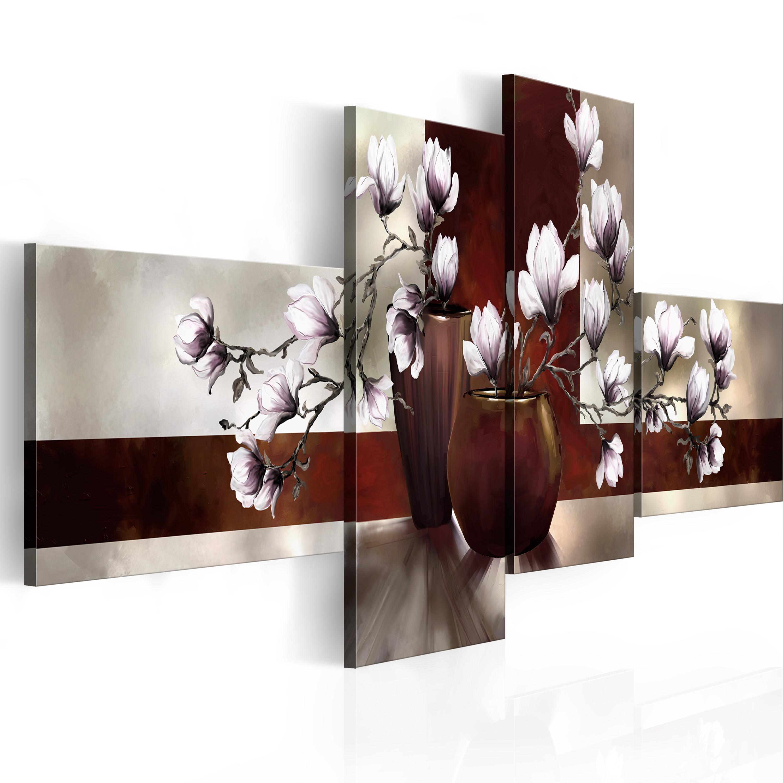 Tableau - Magnolias dans un vase