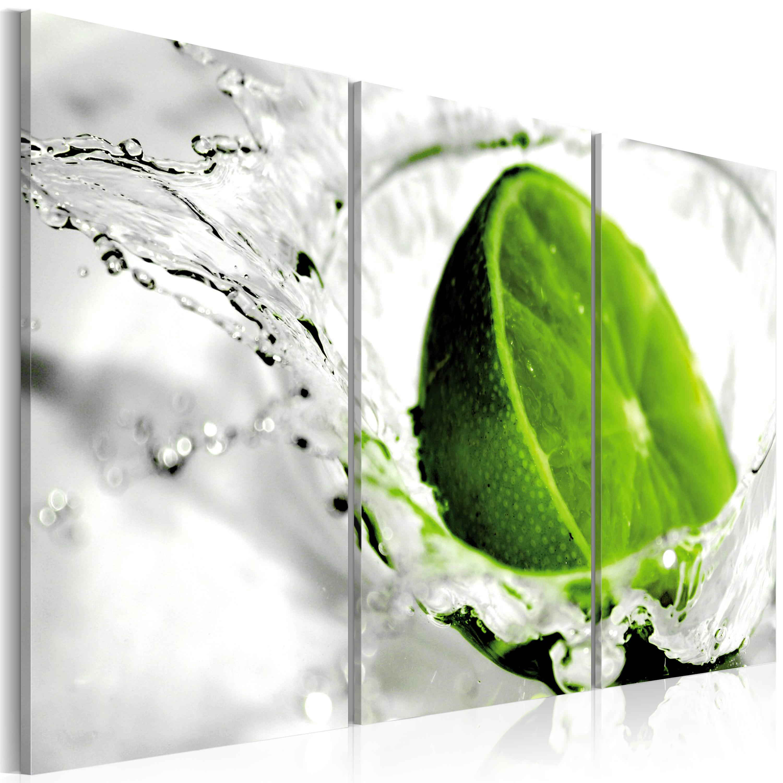 Tableau - Lime rafraîchissante