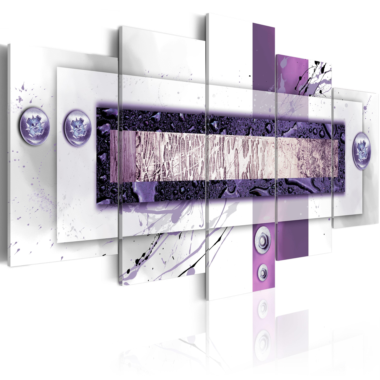 Tableau - Balance violette