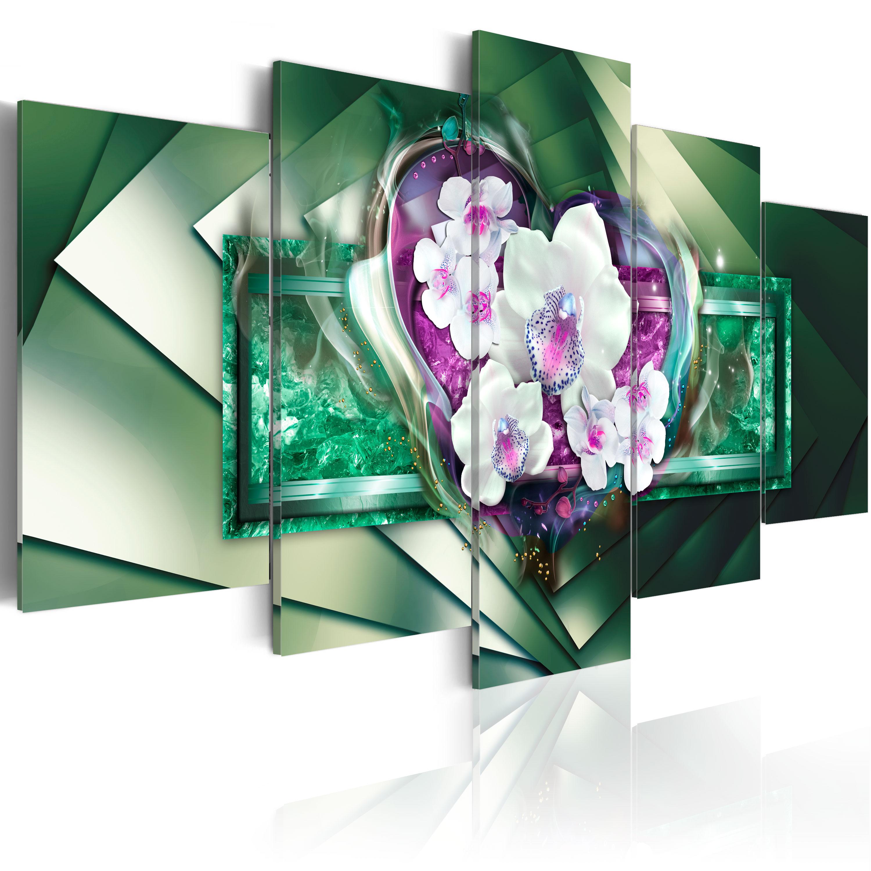 Tableau - In flames - green