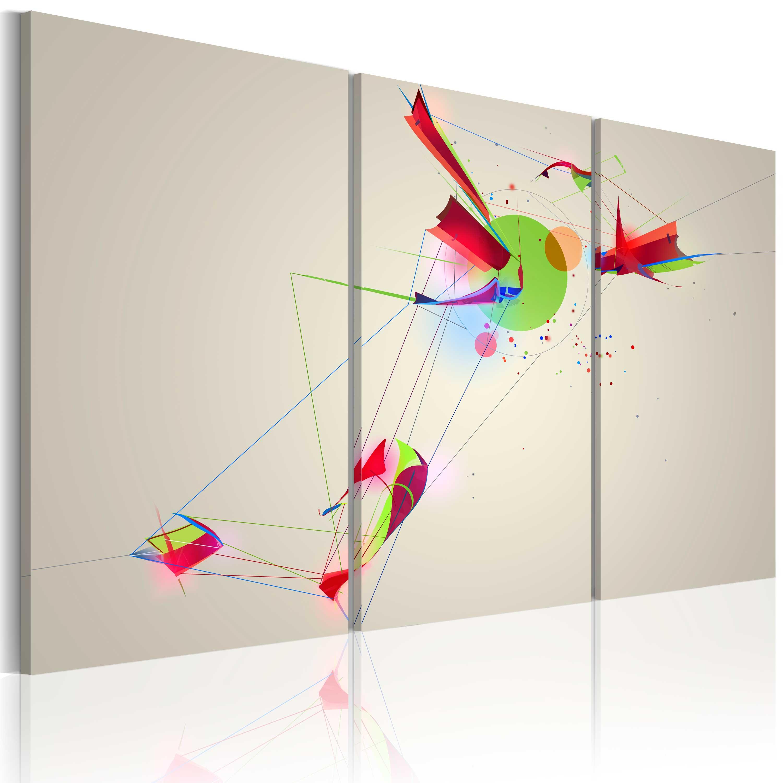 Quadro - Forme e colori 60X40 cm