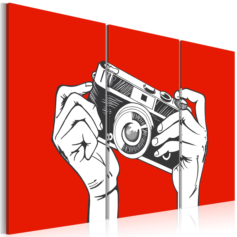 Quadro - A photographer 60X40 cm