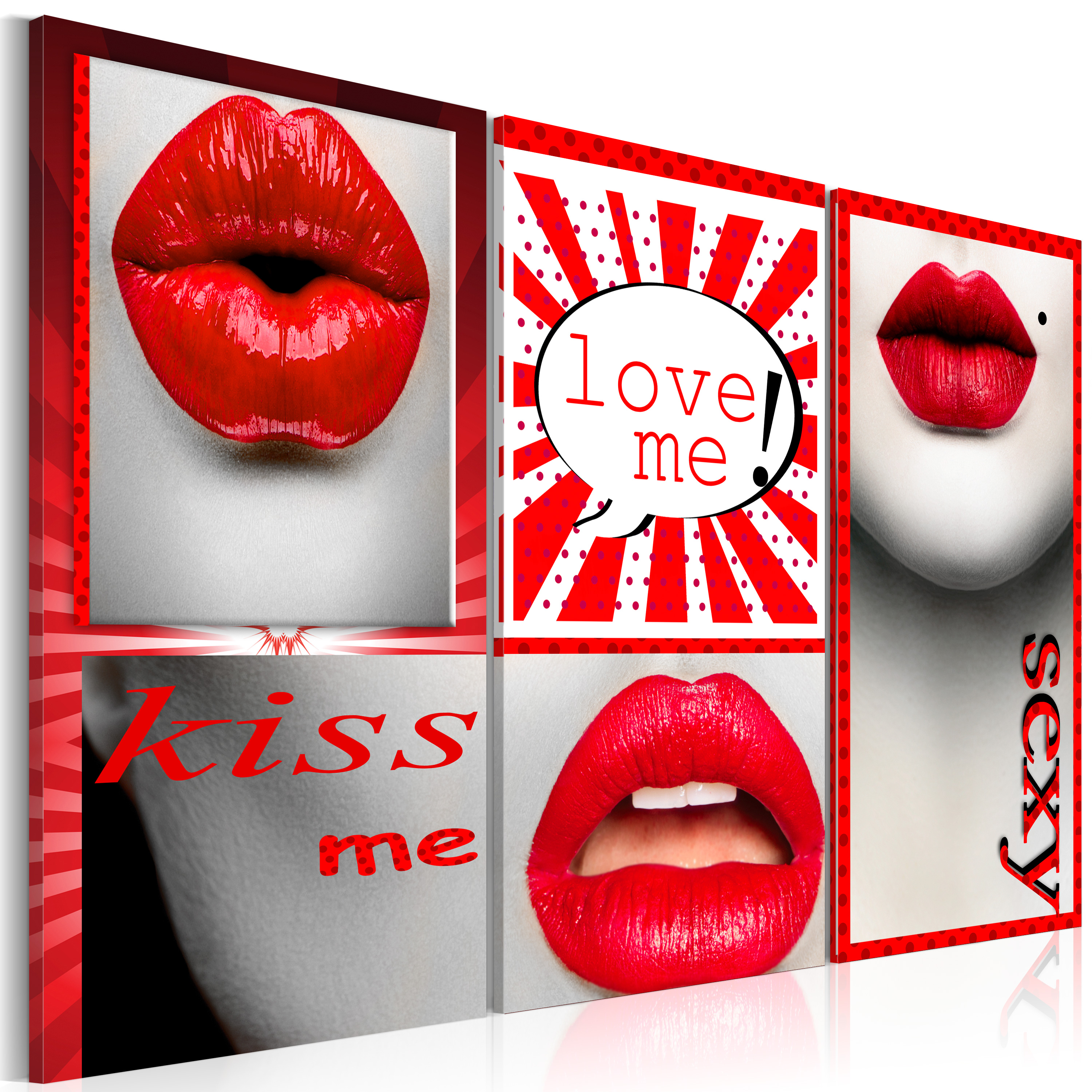 Tableau - Kiss me! Love me!