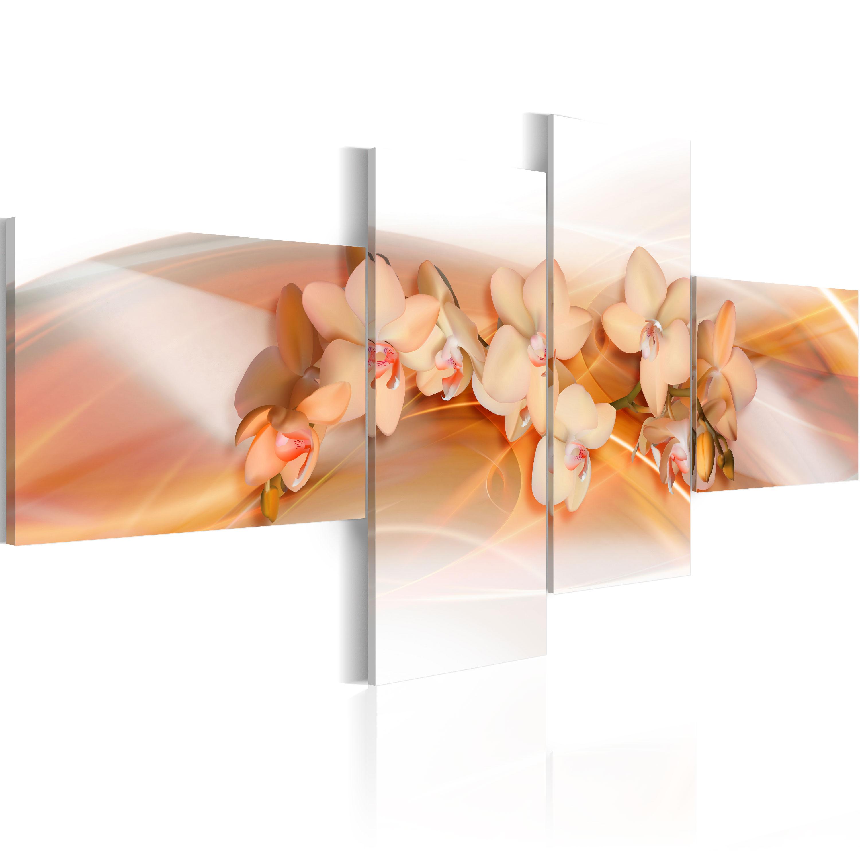 Tableau - Fleurs de couleur crème