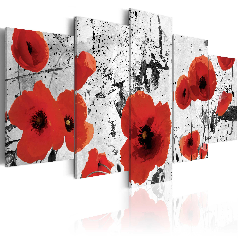Tableau - Scarlet flowers