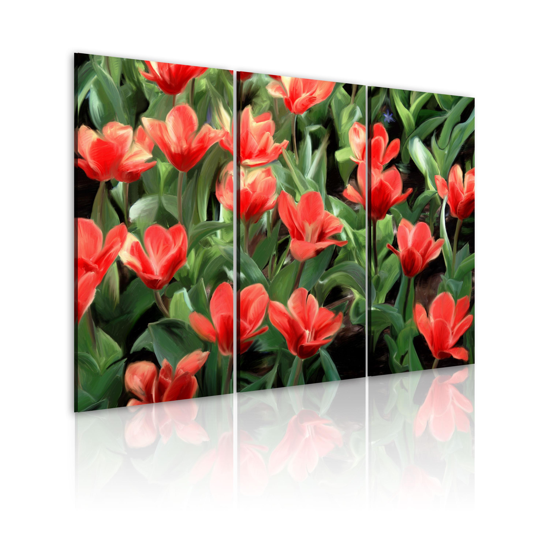 Tableau - Tulipes à fleurs