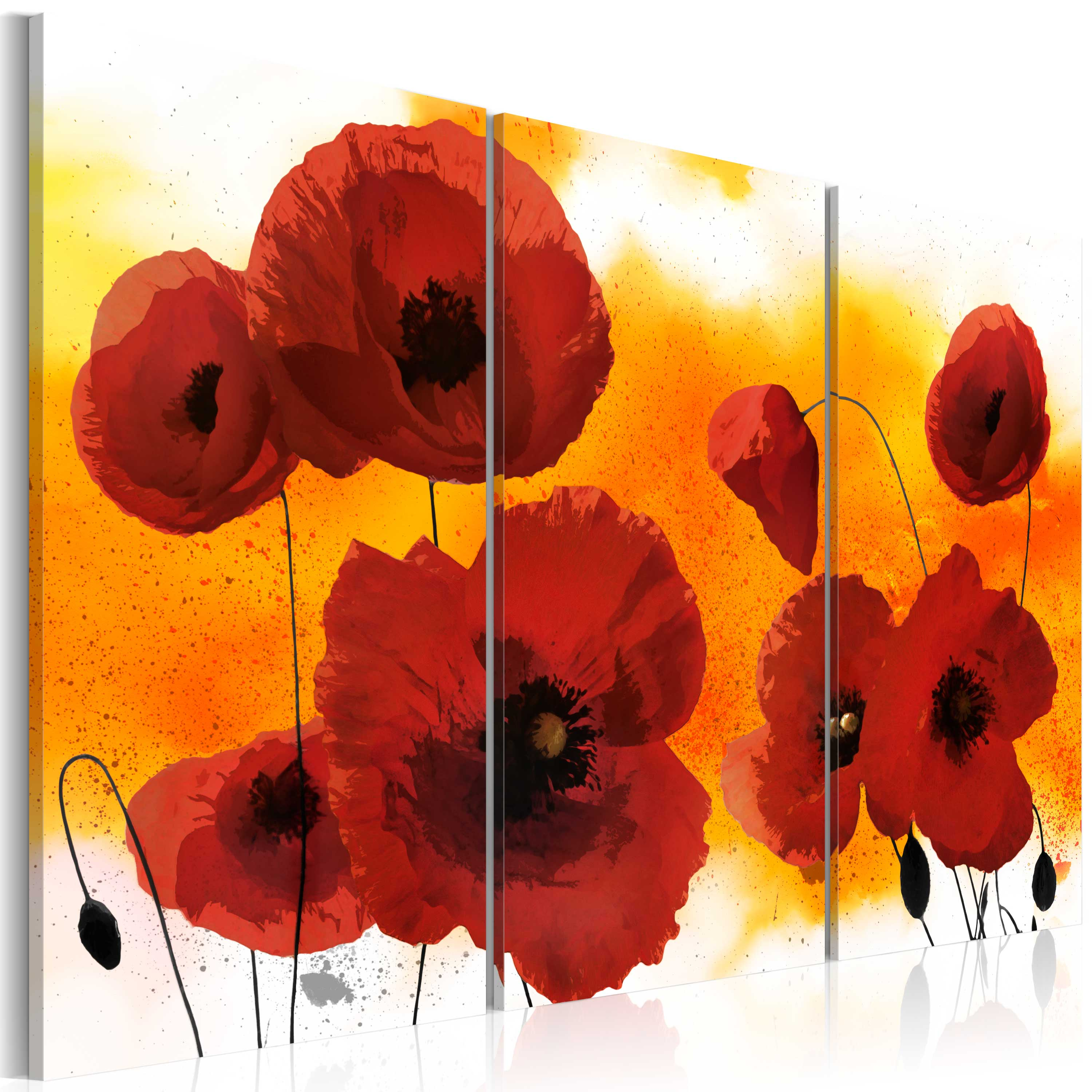 Tableau - Sunny afternoon and poppies