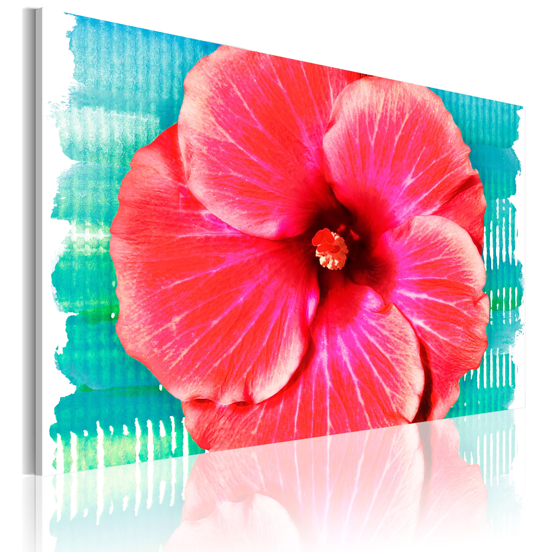 Tableau - Hawaiian flower