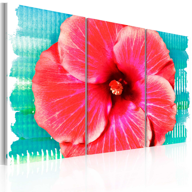 Tableau - Hawaiian flower - triptych