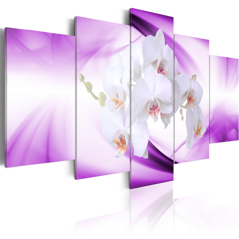 Tableau - Belle fleur, orchidée