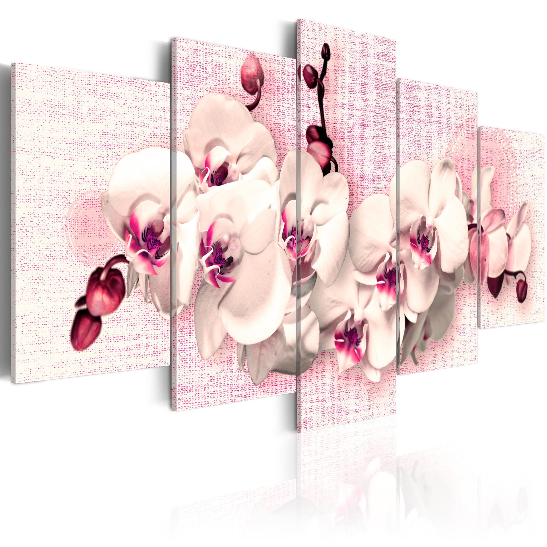 Tableau - Métaphore de la féminité - 5 pièces