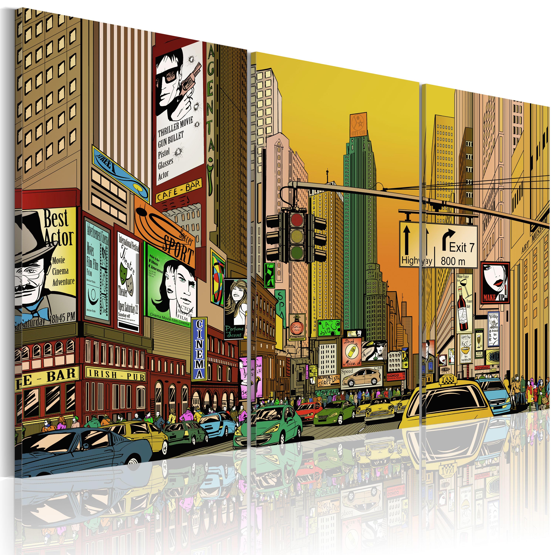 Tableau - Cartoon NYC