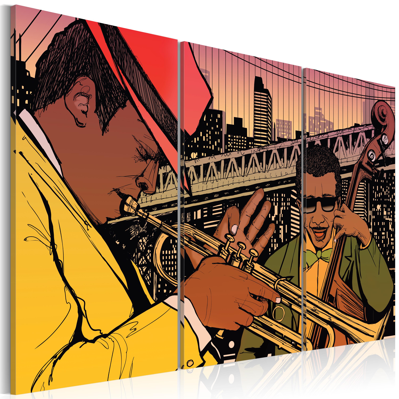Tableau - New York, capitale du jazz