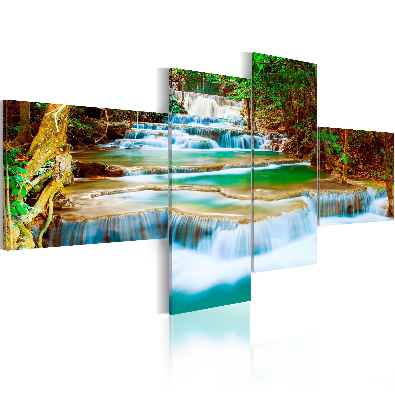 Quadro - Le cascate di fiume 100X45 cm