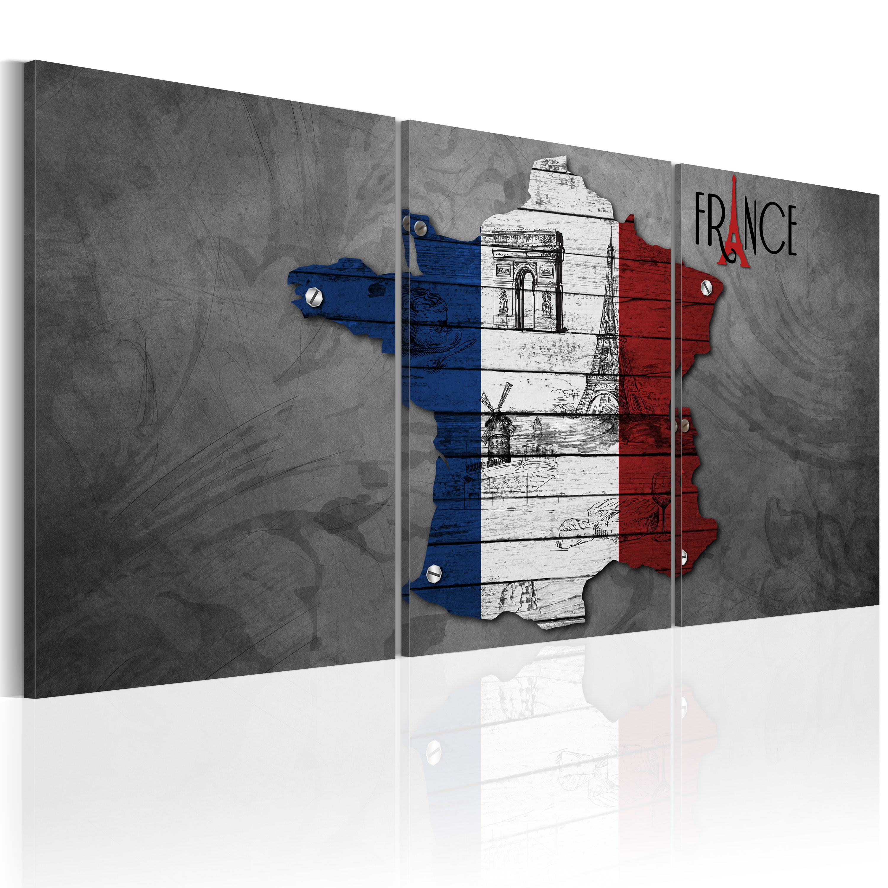 Tableau - All about France