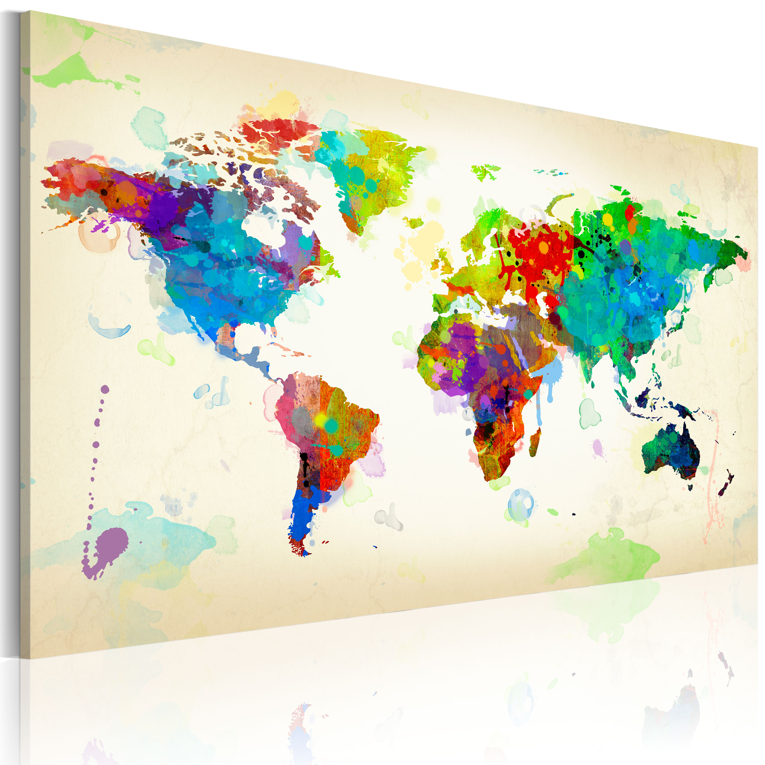 Tableau - All colors of the World