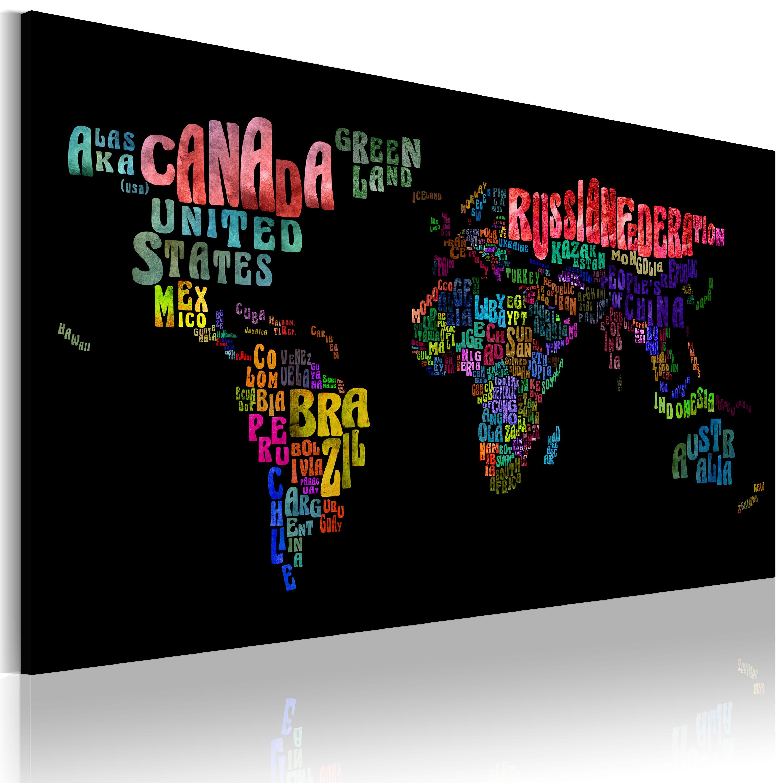 Tableau - Les noms des pays