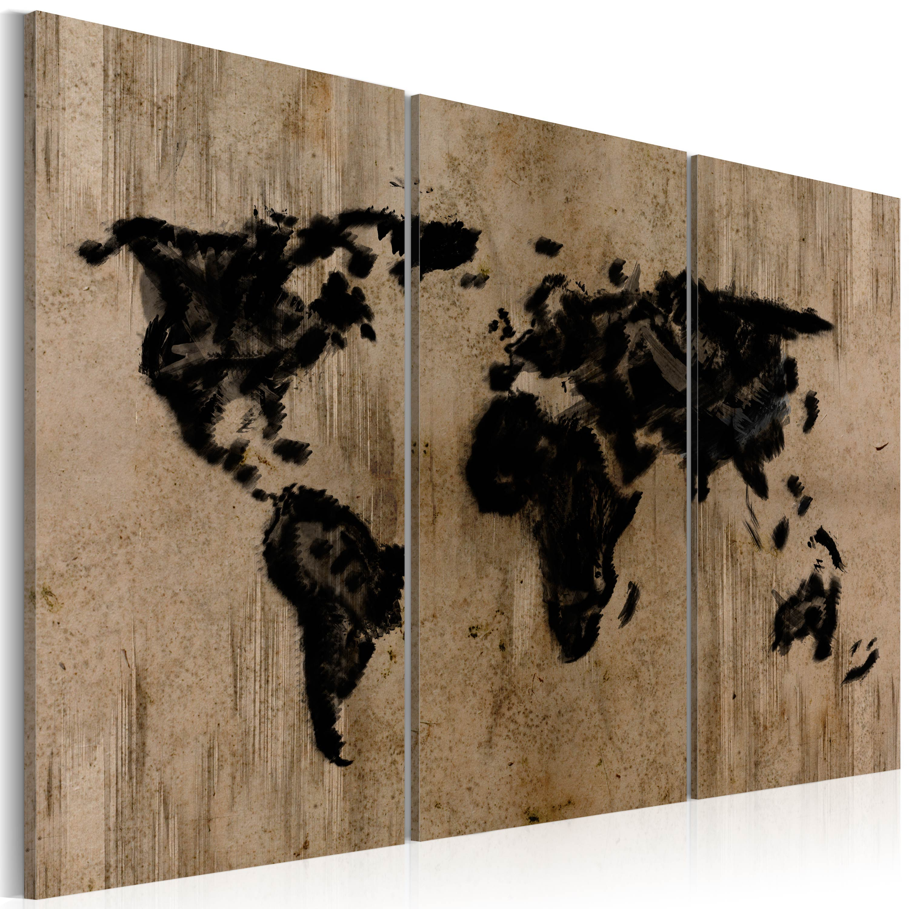 Tableau - Mysterious map of the World