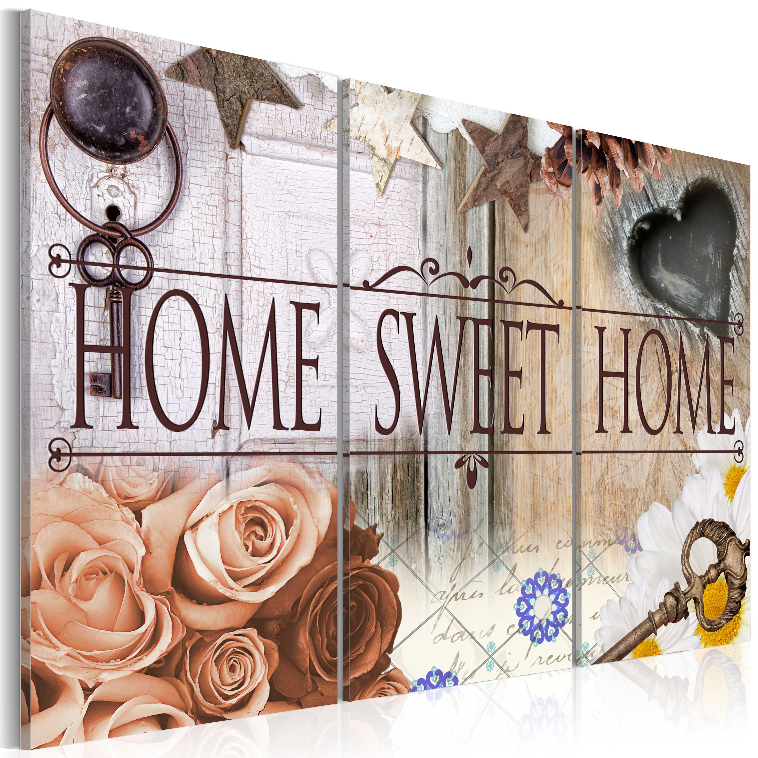 Tableau - Home in vintage style