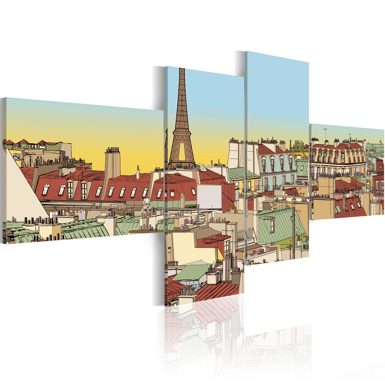Tableau - Fabuleux Paris