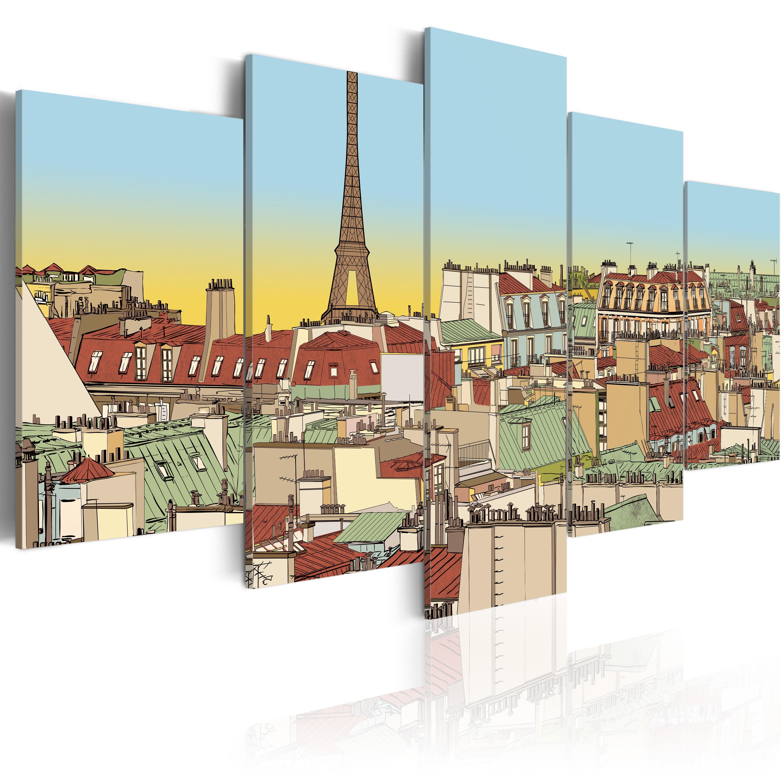 Tableau - Image idyllique de Paris