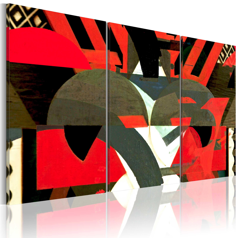 Quadro - Forme astratte 60X40 cm