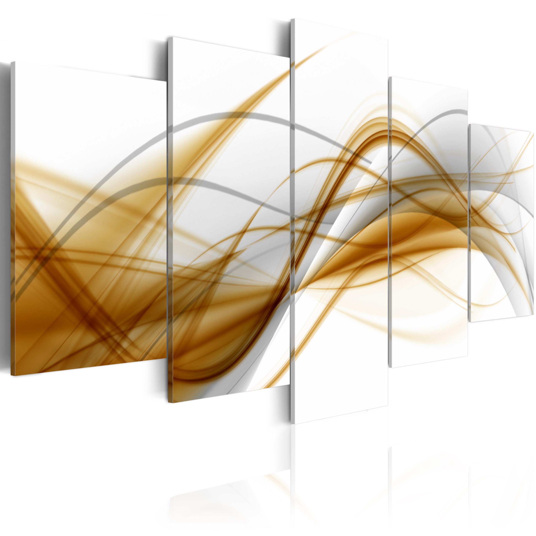 Quadro - Soffio di astrazione 100X50 cm