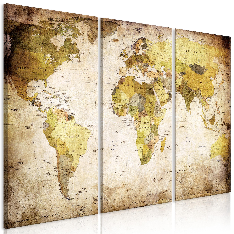 Tableau - Vieux continents