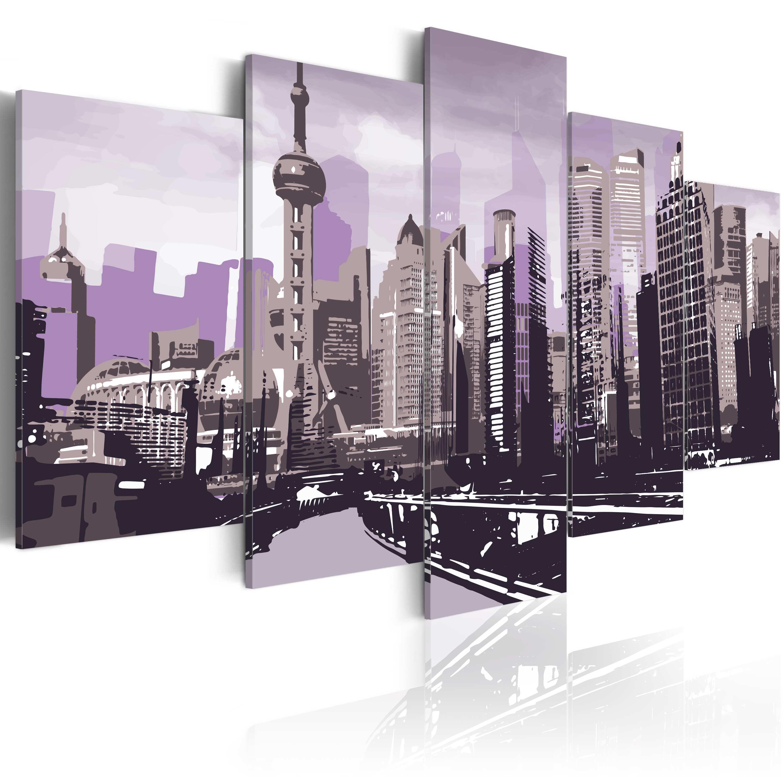 Tableau - Gratte-ciels de Shanghai