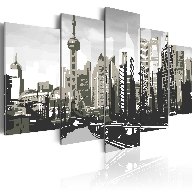 Tableau - Shanghai, la plus grande ville de Chine
