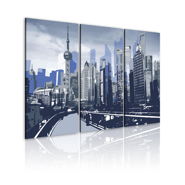 Tableau - Shanghai - paysage urbain