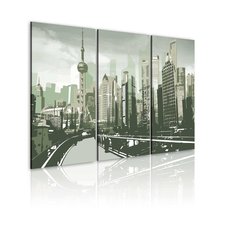 Tableau - Inspiré de Shanghai, Chine