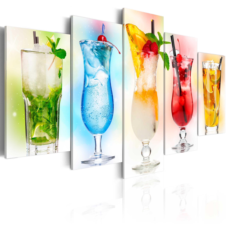 Tableau - Rainbow drinks
