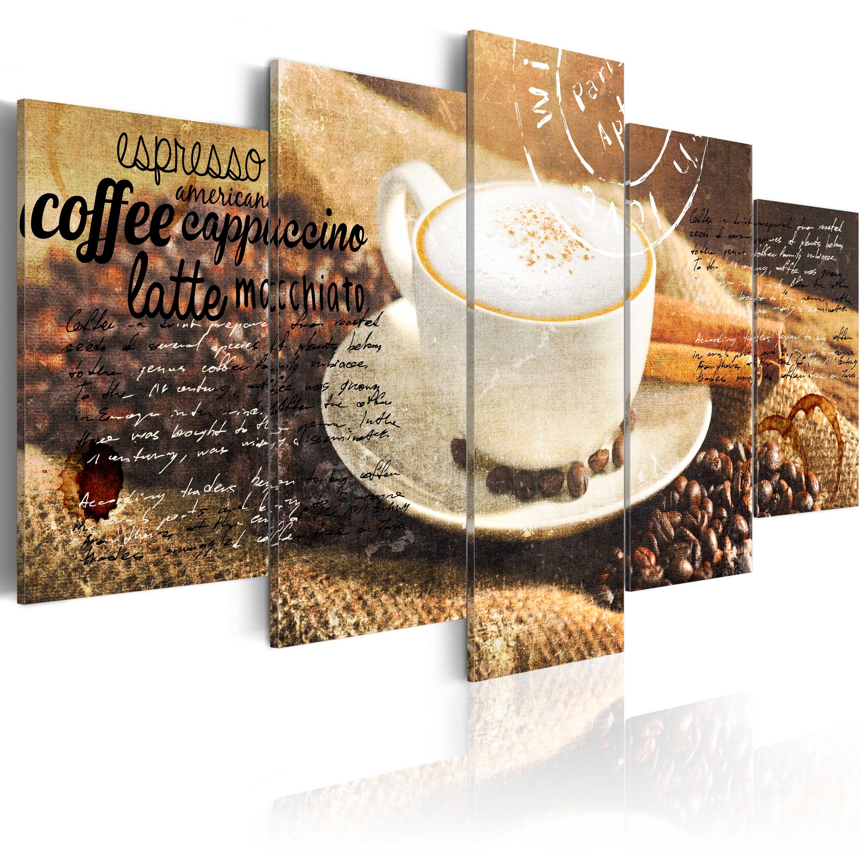 Tableau - Coffe, Espresso, Cappuccino, Latte machiato ...